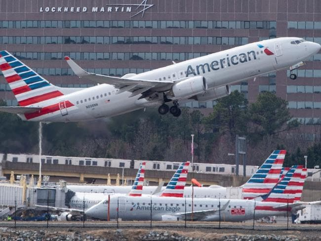 The Boeing 737 MAX aircraft was grounded by aviation authorities worldwide last month. Picture: Andrew Caballero-Reynolds/AFP