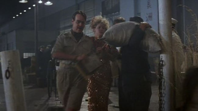 Dan Aykroyd has several lines in Indiana Jones and the Temple of Doom. Picture: Supplied
