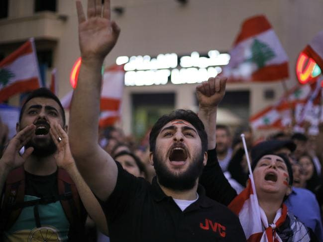 The demonstrations are fueled by local grievances, but reflect worldwide frustration at growing inequality, corrupt elites and broken promises. Picture: AP Photo/Bilal Hussein