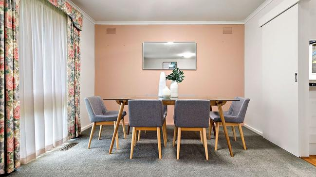 Ducted heating and a dedicated dining room provide a cosy space to entertain.
