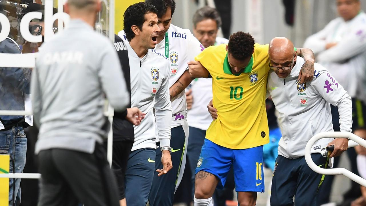 Brazil will be without Neymar after the star picked up an ankle injury