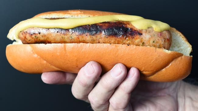 Would you pay $100 for this hotdog? Picture: Jason Sammon