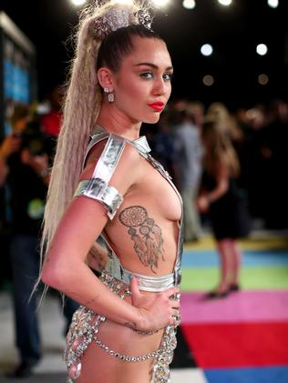 A Disney princess no more. Cyrus at the 2015 MTV Video Music Awards. Picture: Christopher Polk/Getty Images