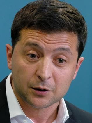 Ukrainian President Volodymyr Zelensky has said Donald Trump did not ask him to do anything illegal. Picture: Getty Images