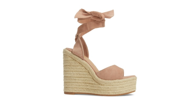 Tony Bianco Barca Espadrille Wedge.