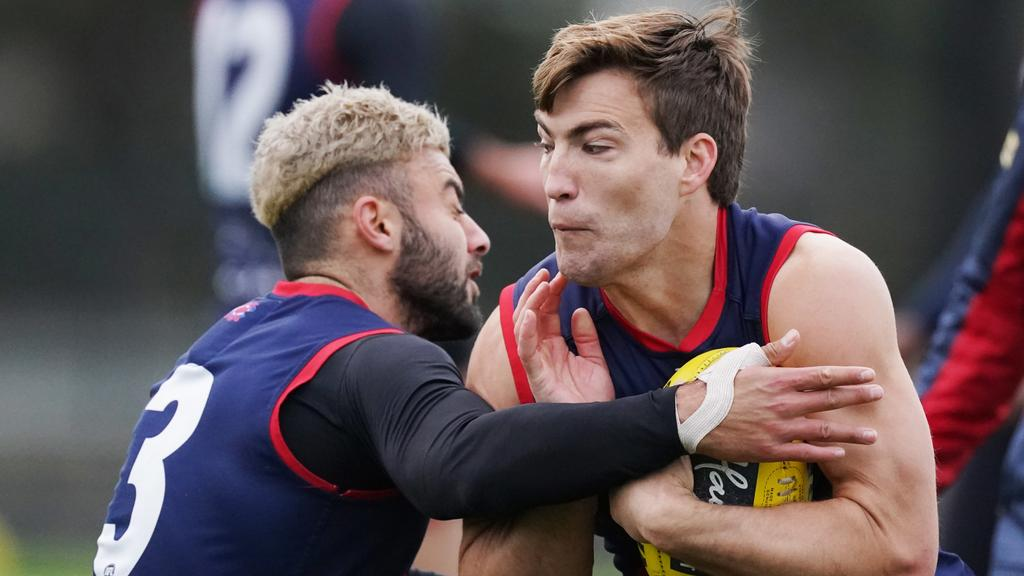 Jack Viney is one of the most popular trade targets for Round 2 after scoring 186.