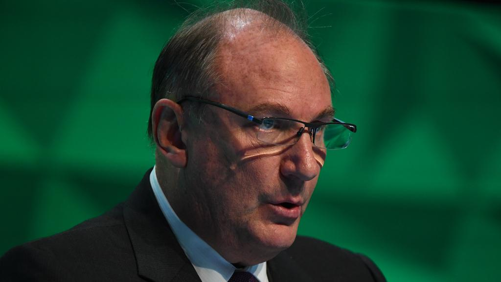 Telstra chairman John Mullen said earnings have been dented by $200 million during 2019-20. Picture: James Ross/AAP