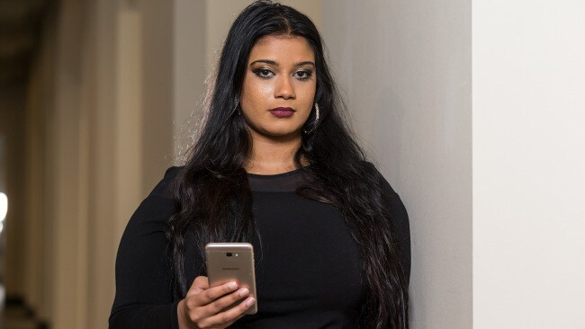 Noelle Martin was 17 when she became a victim of deepfake porn. Photo: Paul Kane/News Corp Australia