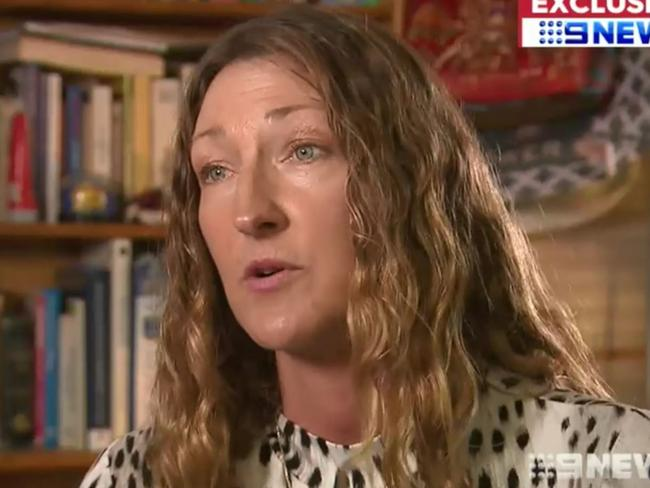 Perth massage therapist and vegan Cilla Carden took her neighbours to court over the smell of their barbecue. Picture: Nine News/Channel 9