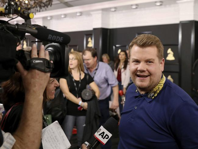 Host James Corden will only be a small part of the mammoth music awards show.