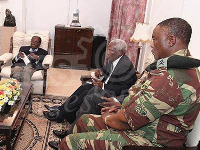The military does not want Mugabe to hand power to his wife Grace. Picture: Zimpapers/Herald