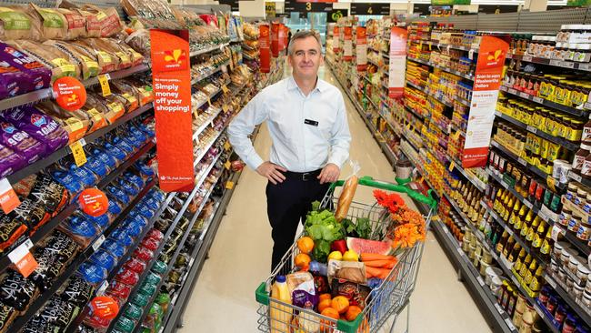 Woolworths CEO Brad Banducci. Picture: Cameron Richardson