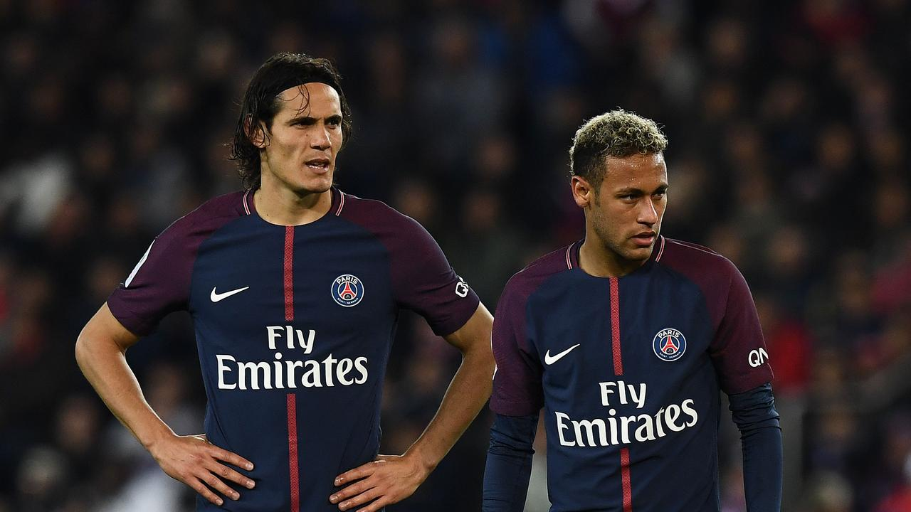 Big money pair Edinson Cavani and Neymar have been ruled out of PSG's Champions League meetings with Manchester United