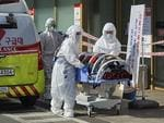 The mayor of S Korea's Daegu urged its 2.5 million residents to stay indoors as virus cases spike