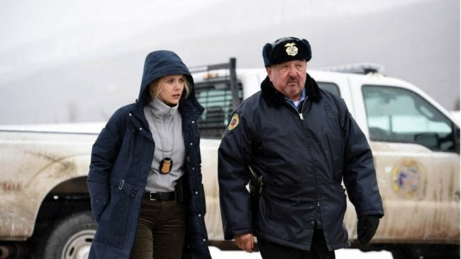 Elizabeth Olsen in 'Wind River'. Photo: Supplied