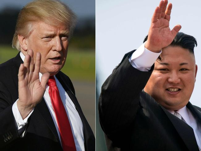 Donald Trump and Kim Jogn-un are one step closer to their impending meeting. Picture: AFP
