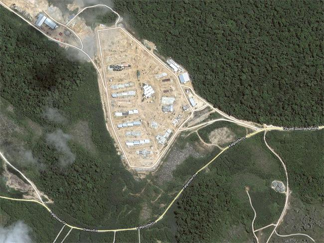 Top Secret sites: Christmas Island, offshore detention centre in the Indian Ocean. Source: Google Earth