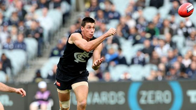 Matthew Kreuzer is averaging nearly 100 points but game but is in less than 1% of SuperCoach sides - do you have faith in the Blues' big man?