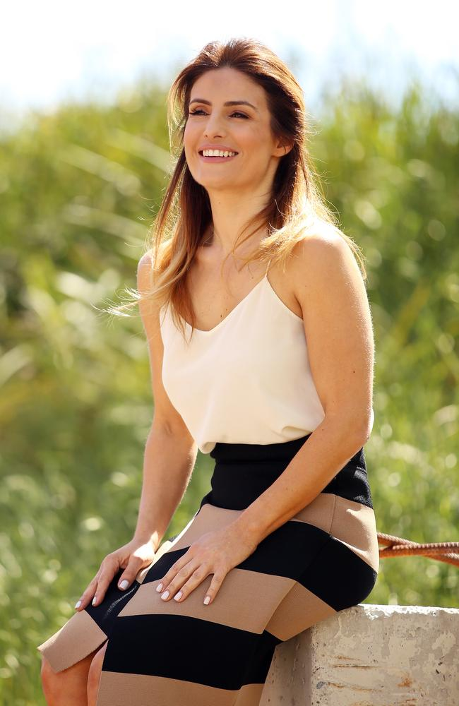 Home and Away actress Ada Nicodemou says she's happier than ever. Picture: Sam Ruttyn