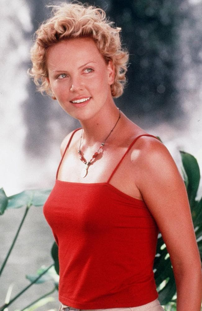 Charlize Theron in 1998 film  <i>Mighty Joe Young</i>. Picture: Supplied.