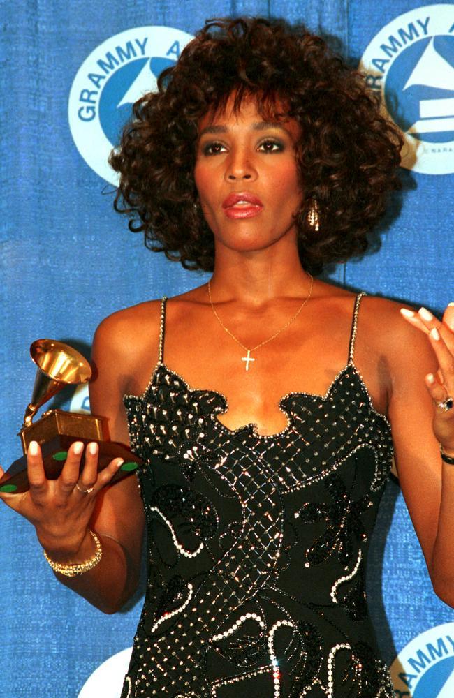Whitney at the 1988 Grammy Awards.
