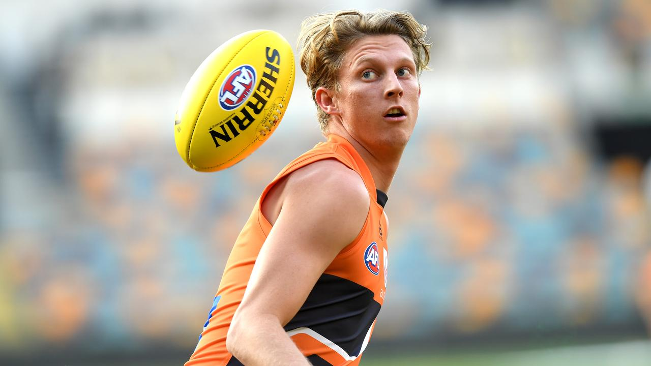 Lachie Whitfield won't play in Saturday's preliminary final. (Photo by Bradley Kanaris/Getty Images)