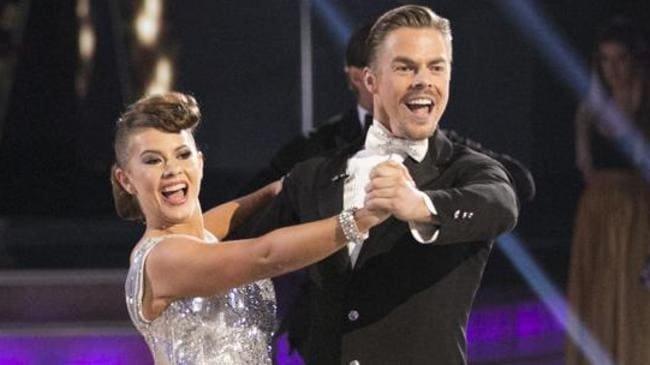 Bindi and Derek nailed both routines. Picture: Getty Images