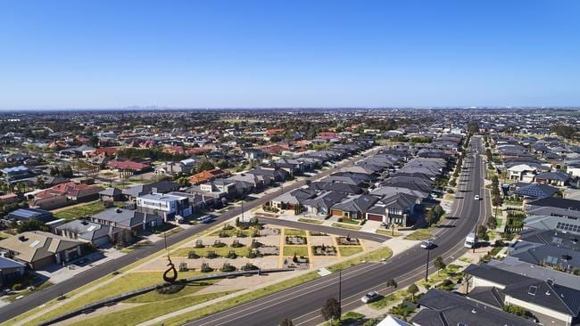 Land sales in Melbourne estates including Villawood have spiked since the election.