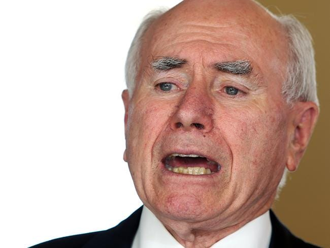 Mr Abbott compared John Howard's first term as Prime Minister to his own.
