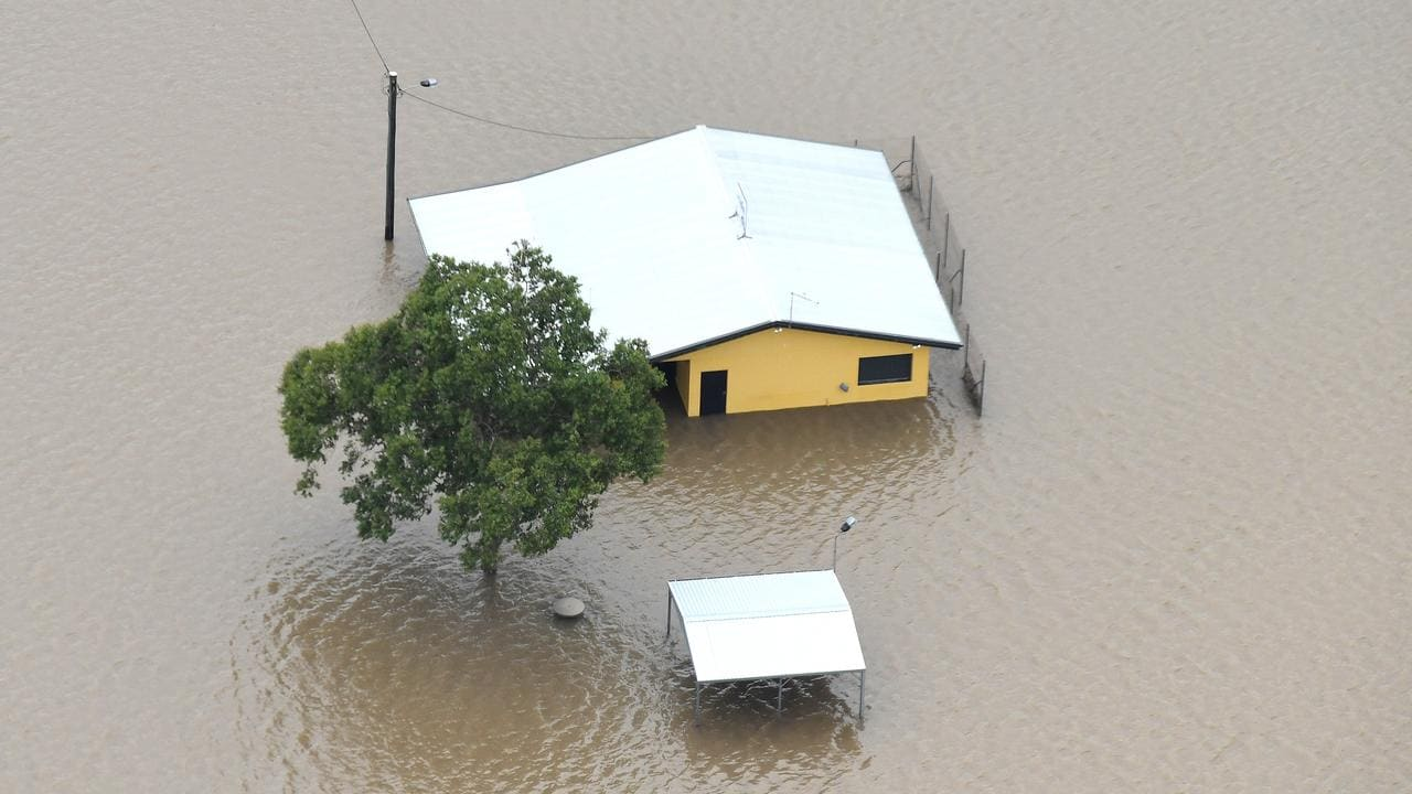 There was severe flooding at Ingham in North Queensland in March. Picture: AAP