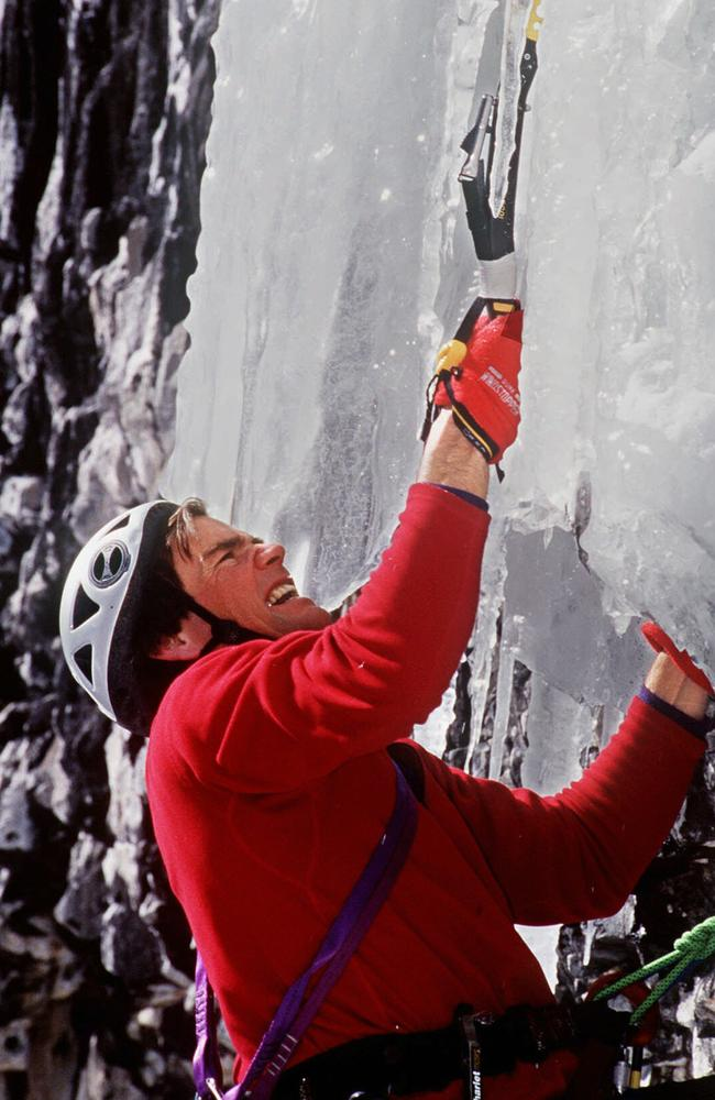 Alex Lowe was regarded as the best mountain climber in the world. Picture: AP/Kristoffer/Erickson