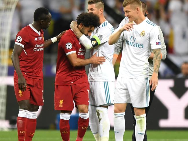 There were tears all around for Liverpool players.
