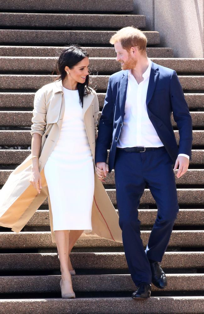 Harry and Meghan on their way to steal your thunder.