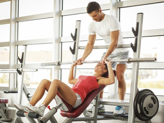 Nothing like embarrassing yourself in front of your hot personal trainer.