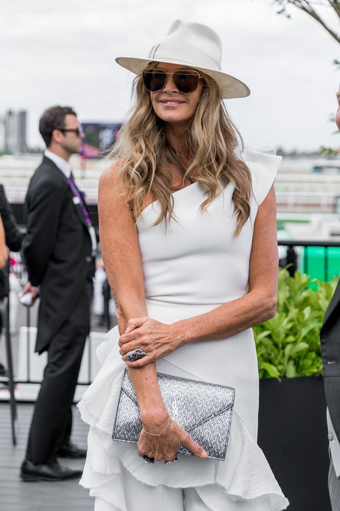 Elle Macpherson shares her wellness and exercise rules, including why she never eats on planes