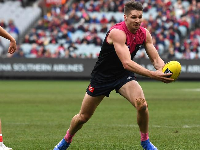 Hogan showed his raw talent at the Demons.