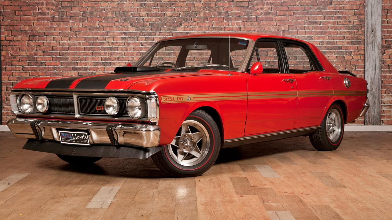 The ford falcon gtho phase iii sold for 1030000