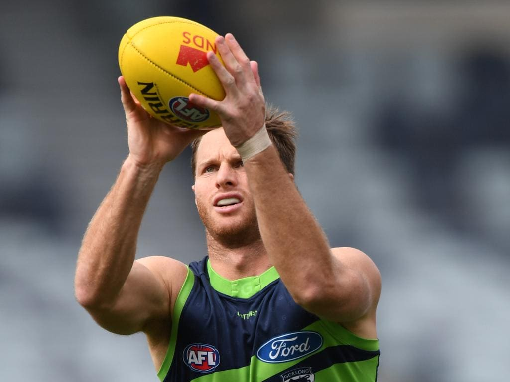 Each of Henderson's five matches for Geelong in 2019 have been as a defender.
