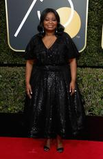 Octavia Spencer attends The 75th Annual Golden Globe Awards at The Beverly Hilton Hotel on January 7, 2018 in Beverly Hills, California. Picture: Frederick M. Brown/Getty Images