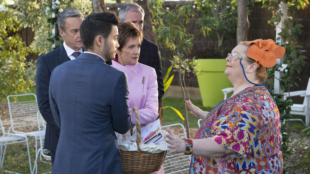 A Wedding Celebrant For The First Ever Same Sex Wedding On Australian Television With Steffan Denis Jackie Woodburne Takaya Honda And Alan Fletcher
