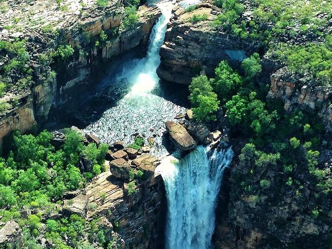 Jim Jim Falls, Kakadu National Park. Picture: Instagram/isometimestravel