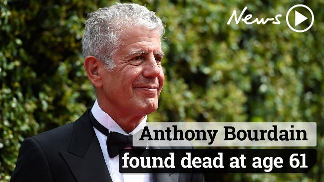 Anthony Bourdain found dead at age 61