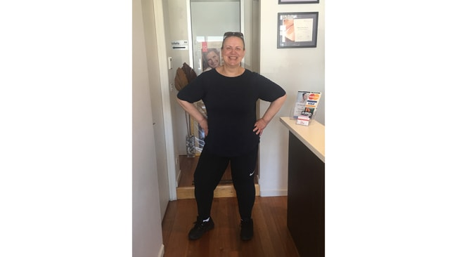 Image: Anna after her weight loss. Supplied.