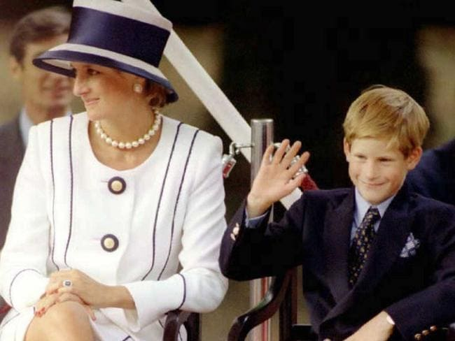 Prince Harry was only 12 when his mother died. Picture: Allan Lewis/AFP