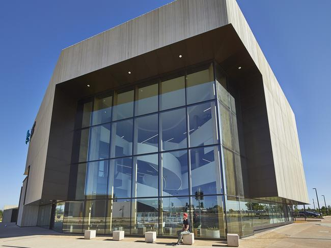 Stretton Centre by HASSELL won the Jack McConnell Award for best public architecture. Picture: Peter Bennetts