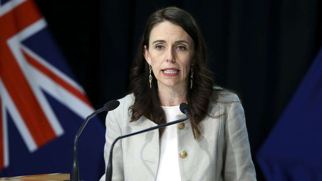 NZ PM Jacinda Ardern last week extended current COVID-19 restrictions until August 26. Picture: Hagen Hopkins/Getty Images