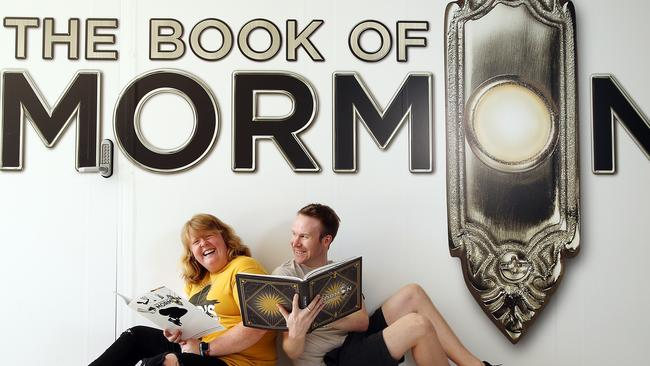 Book of Mormon stage show is ready to hit Sydney for the first time. Picture: Sam Ruttyn