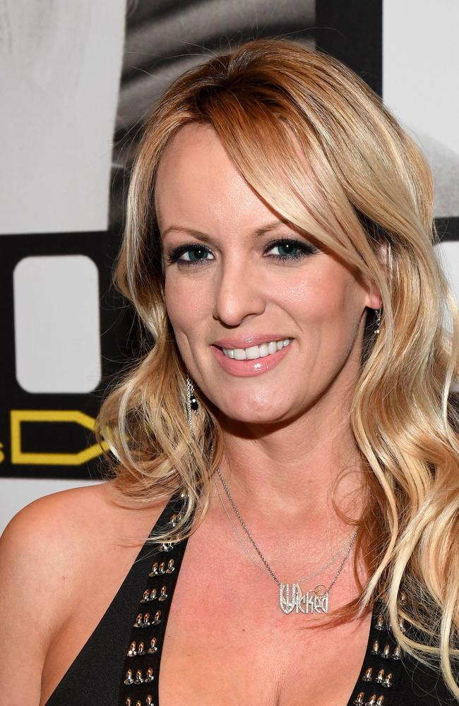 Adult film star Stormy Daniels must pay President Trump $293,000 in legal fees, a judge ruled today.