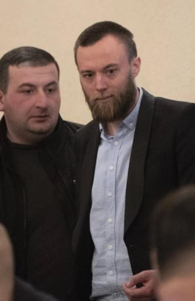 Jack Shepherd (at right) appears in court.