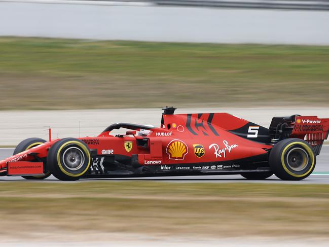 Ferrari is the clear pace-setter.